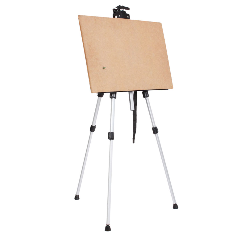 artist tripod telescopic aluminium alloy easel white board field
