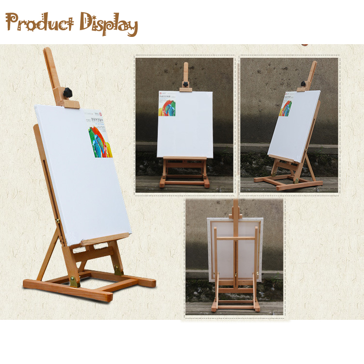 Adjustable French H Frame Art Artist Wooden Tabletop Easel W/Stand Display  HJ 10