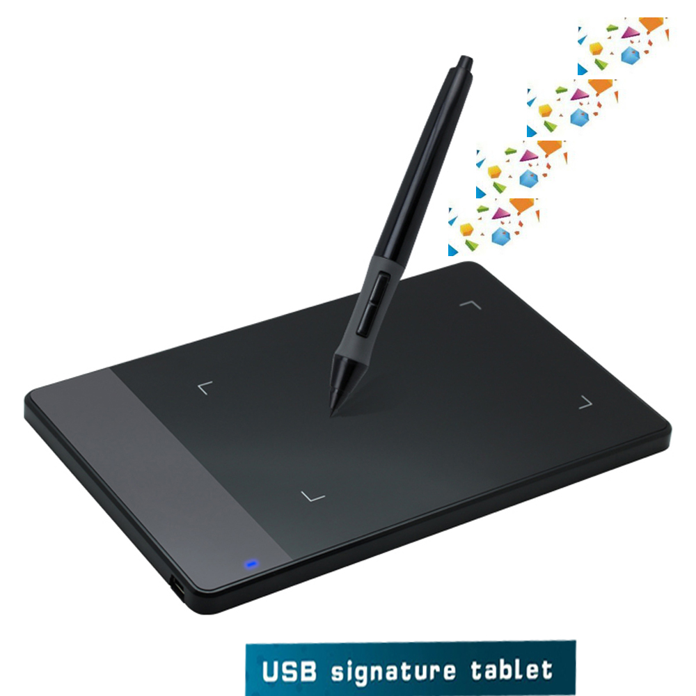usb huion 420 art design graphics drawing tablet pad 4 x digital pen ebay. Black Bedroom Furniture Sets. Home Design Ideas