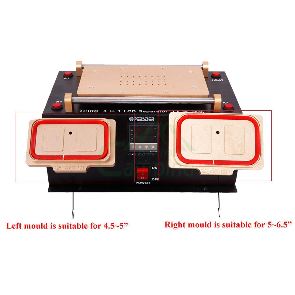 3 in1 lcd touch screen separator middle frame machine split for rh ebay com HTC Cell Phone Repair HTC Cell Phone Repair