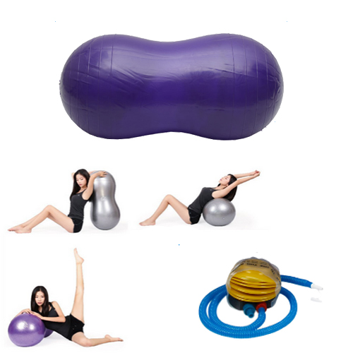 Stability Ball Yoga Poses: Peanut Yoga Ball 45cm*90cm Health Fitness For Yoga