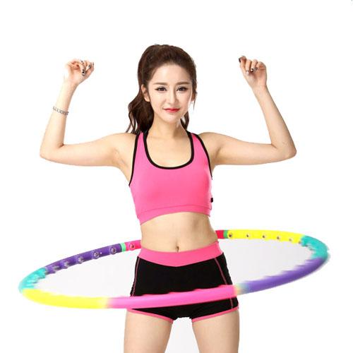 new hula hoop magnetic therapy massage hula hoop slim abdominal exercise c581 ebay. Black Bedroom Furniture Sets. Home Design Ideas