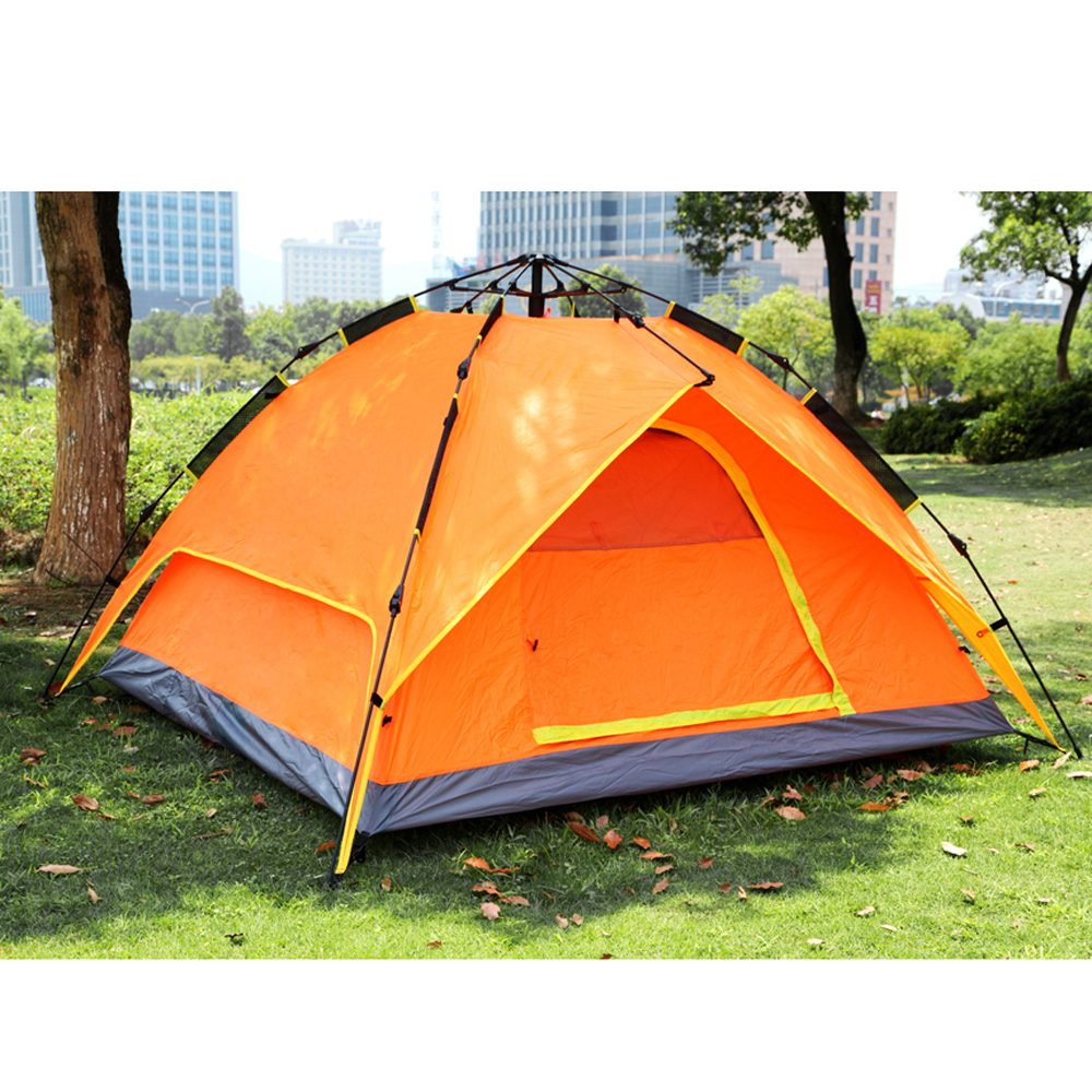 4 Season 4 Person Camping Tent Double-layer Waterproof ...