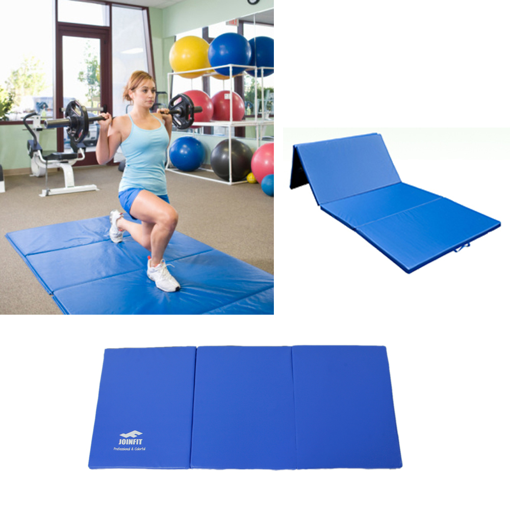 Folding Panel Thick Gymnastics Mat Gym Fitness Exercise