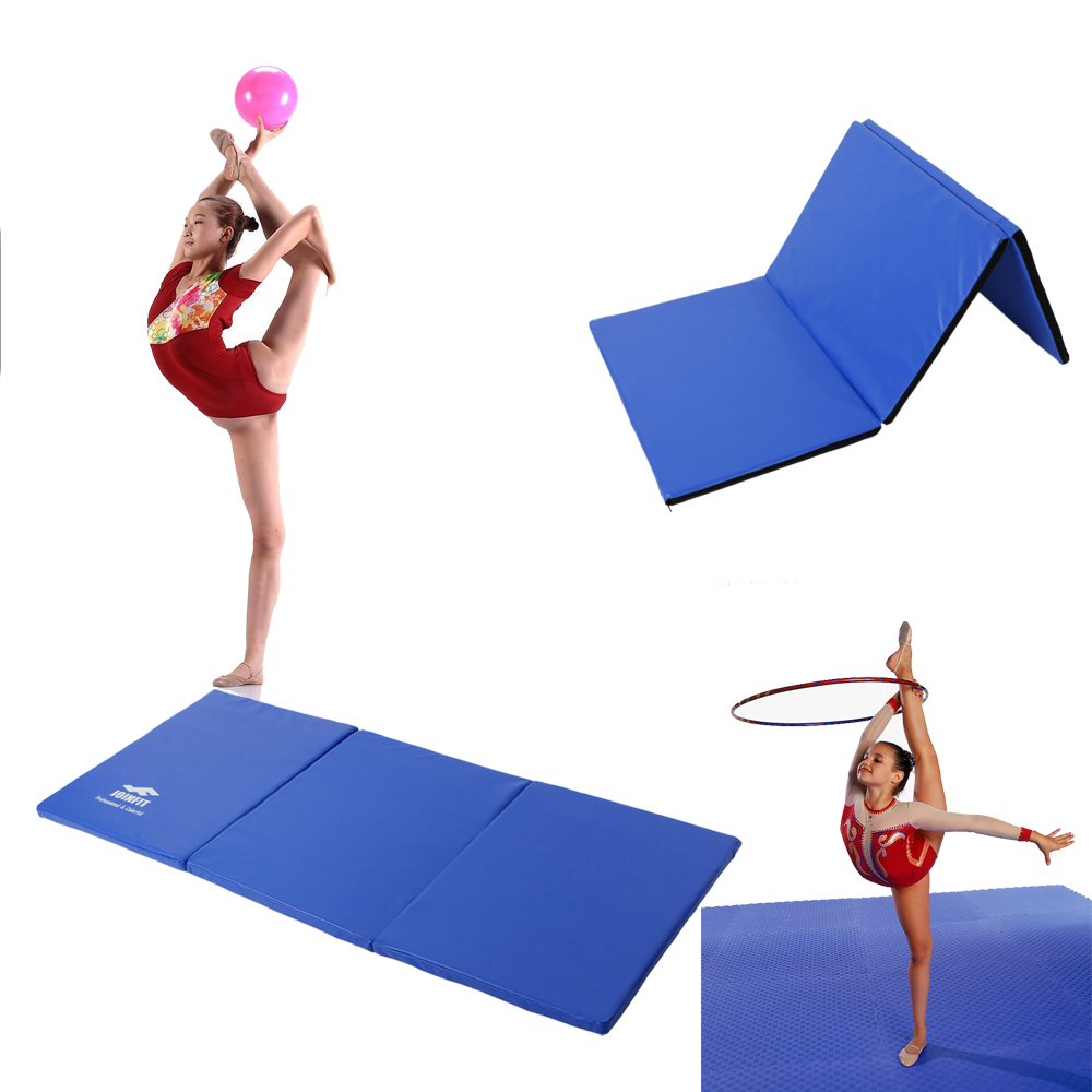 Folding Gymnastics Fitness Mat Panel Aerobics Exercise