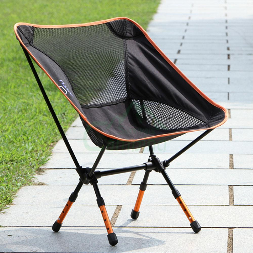 Portable Folding Camping Stool Chair Seat Backpack For