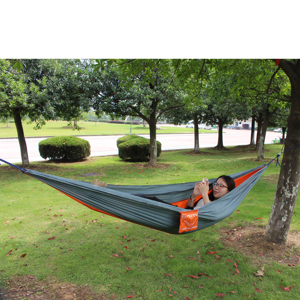 Tent Hammock For Two : Enjoy portable parachute nylon fabric travel camping