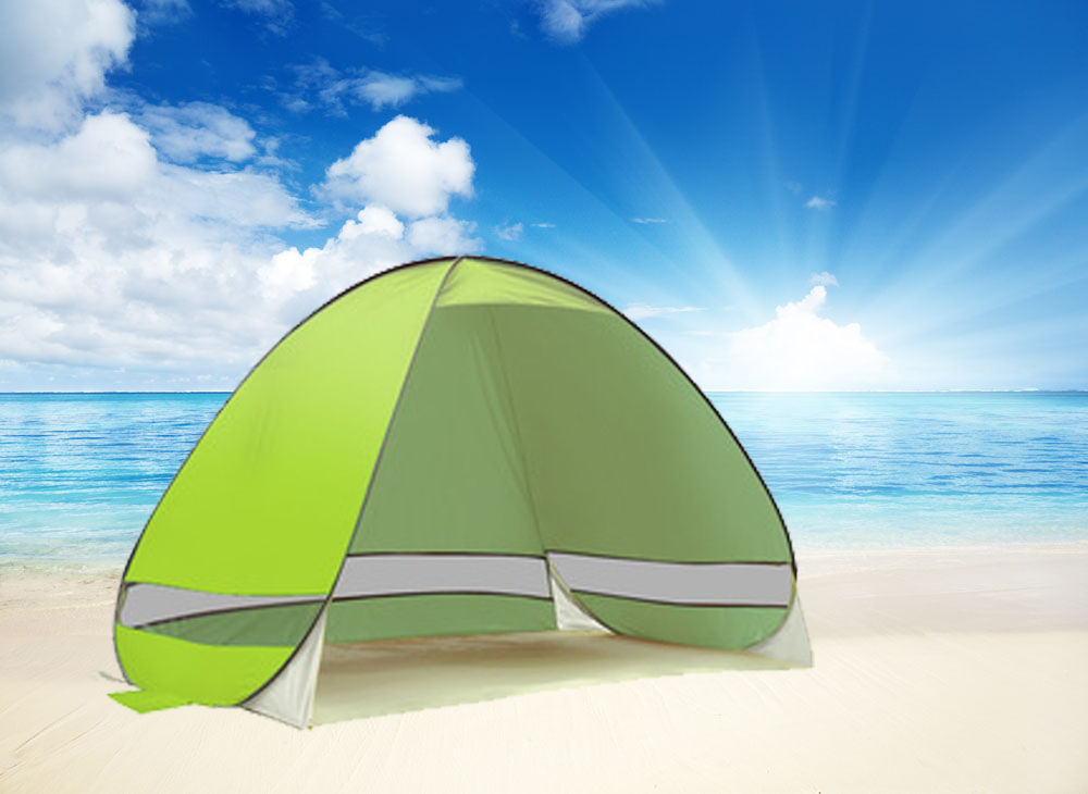 Pop Up Sun Shelter For Beach : Pop up portable beach canopy shade shelter outdoor camping