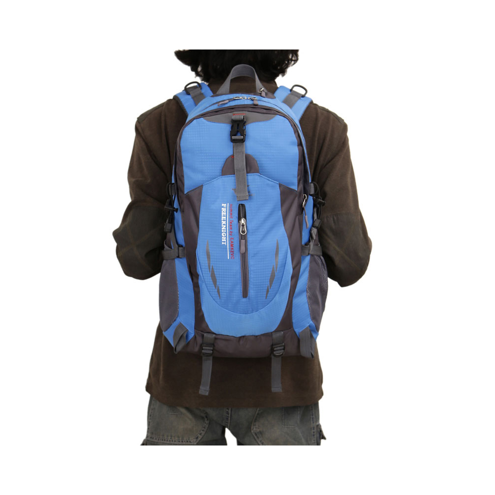 f55e3c943b42 Details about Outdoor Hiking Camping Waterproof Nylon Travel Luggage  Rucksack Backpack Bag