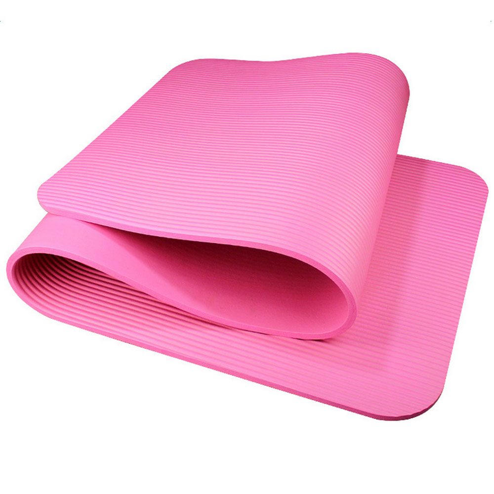 Extra Thick Non-slip Yoga Mat Pad Exercise Fitness Pilates