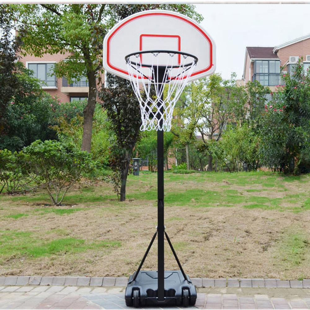 portable indoor kids youth basketball backboar court goal hoop