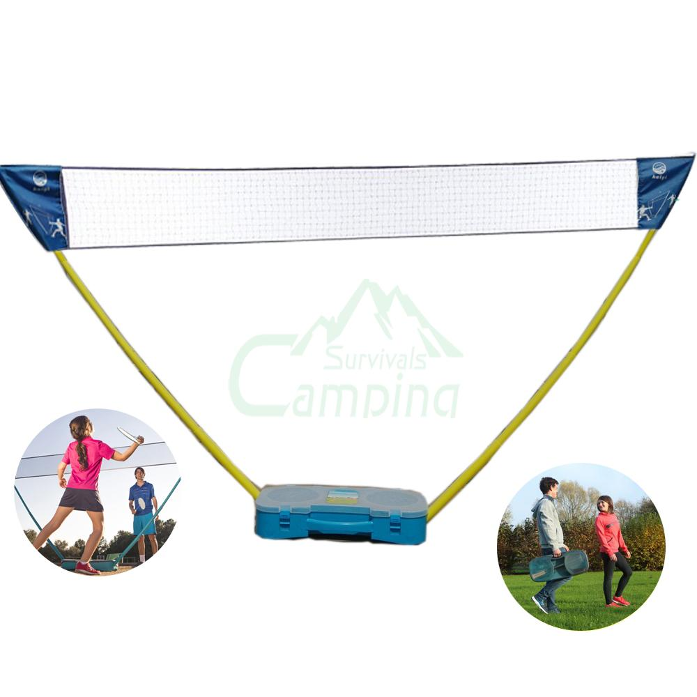 Portable Badminton Set Outdoor Badminton Net Courts
