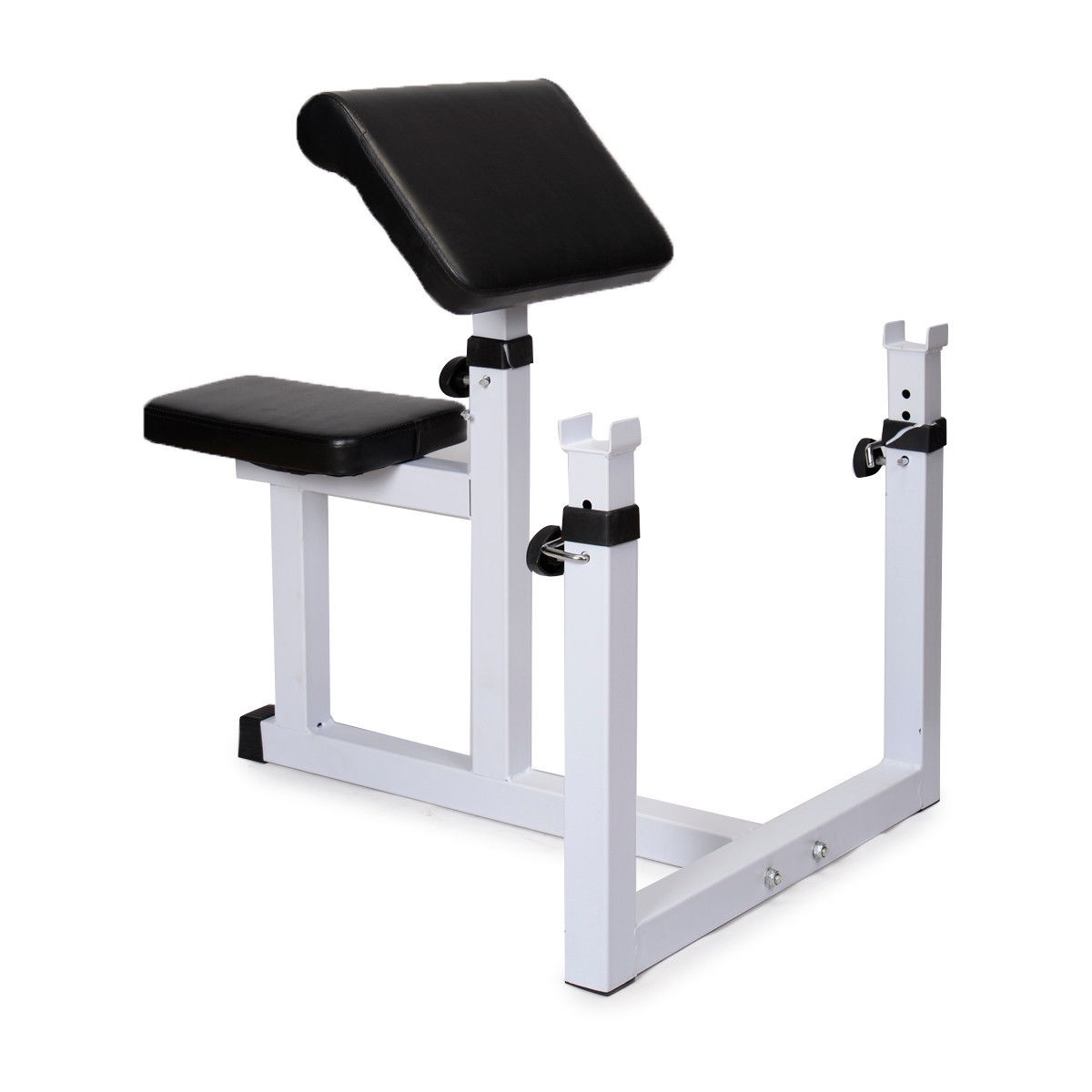 Commercial Preacher Curl Weight Bench Seated Preacher Isolated Dumbbell Biceps Ebay
