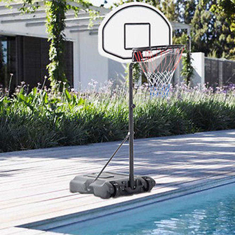 Pool basketball hoop goal net games sports backboard - Basketball goal for swimming pool ...