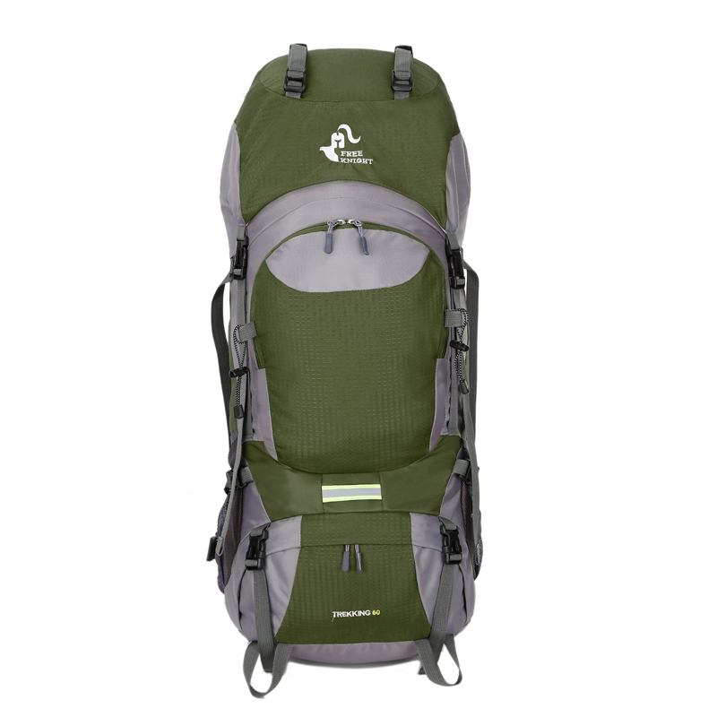 60l Large Outdoor Sports Backpack Camping Hiking Bag Internal Frame