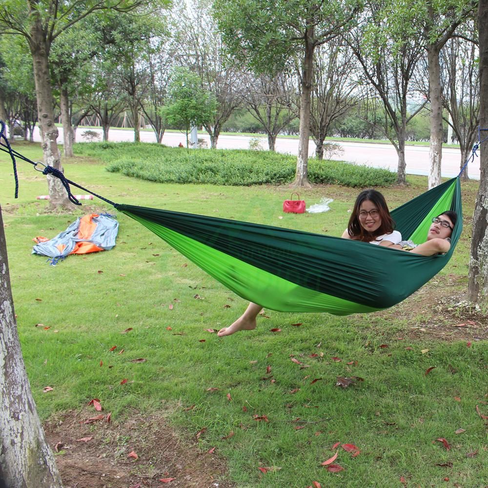 double hammock tree 2 people person patio bed swing new. Black Bedroom Furniture Sets. Home Design Ideas