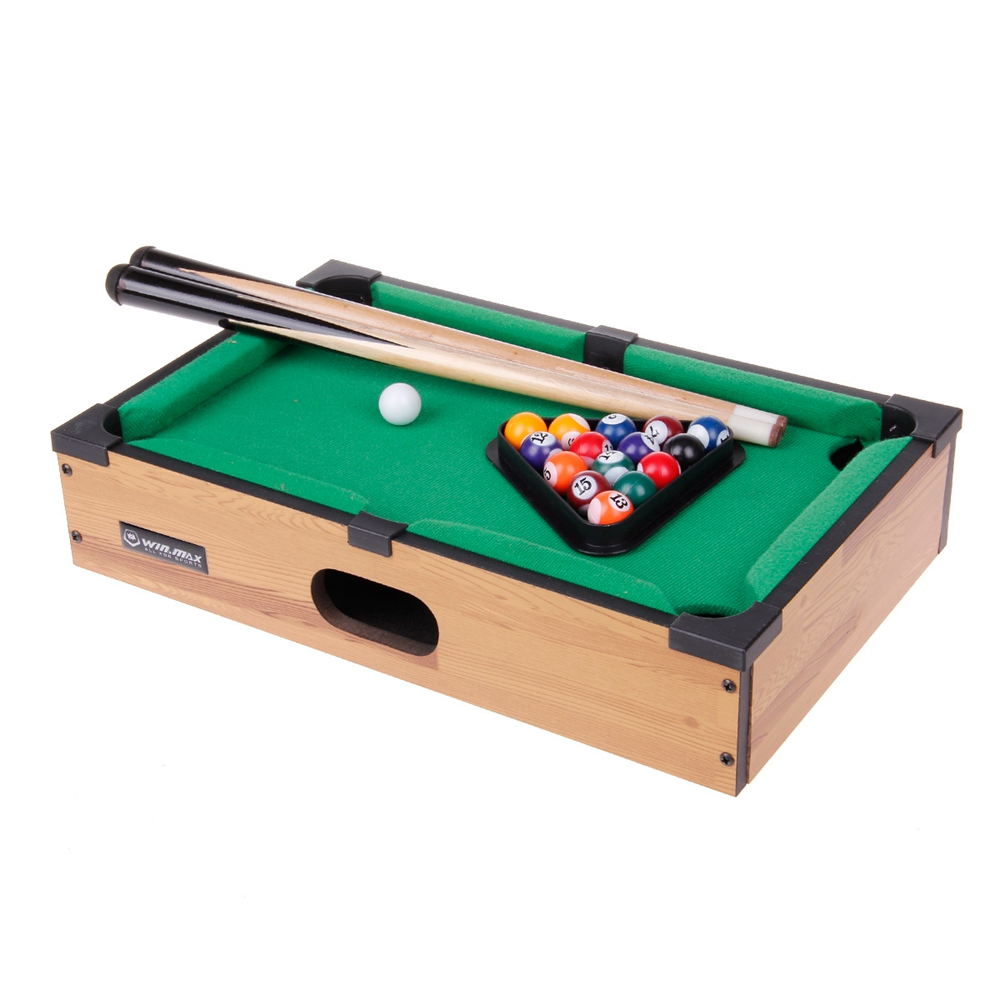 Mini Pool Table Game Table Top With Accessories Board