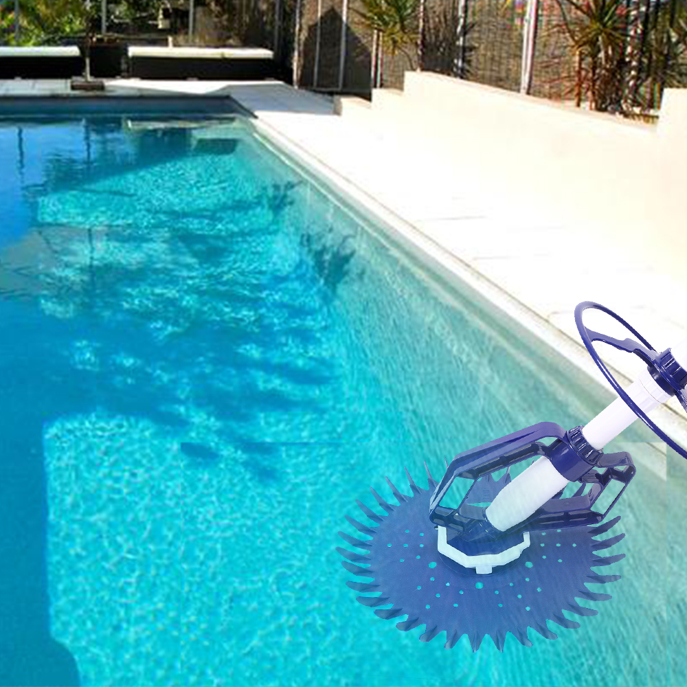 Details about Automatic Suction Side Climb Wall Swimming Pool Vacuum  Cleaner with 10 Hoses US